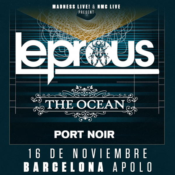 Leprous + The Ocean + Port Noir (Barcelona)