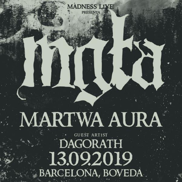 Mgła + Martwa Aura + Dagorath (Barcelona)