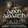 Amon Amarth + Arch Enemy + Hypocrisy (Madrid) PISTA