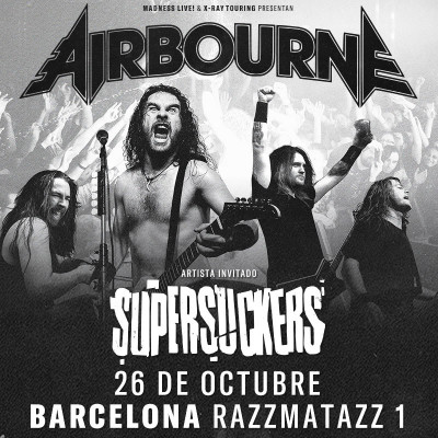 Airbourne + Supersuckers (Barcelona)