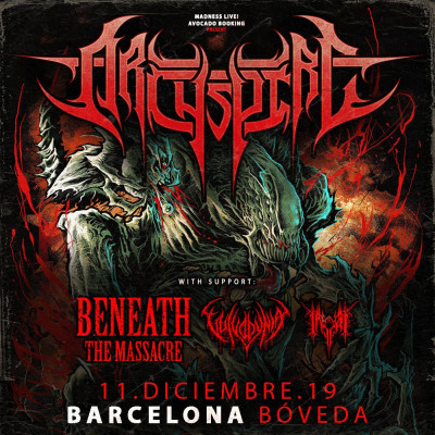 Archspire + Beneath the Massacre + Vulvodynia + Inferi (Barcelona)