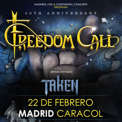 Freedom Call + Taken (Madrid)