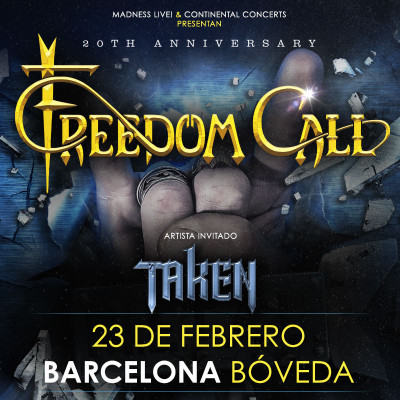 Freedom Call + Taken (Barcelona)