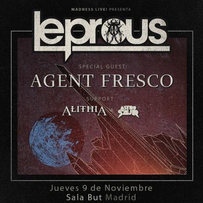 Leprous + Agent Fresco + Alithia + Astrosaur (Madrid)