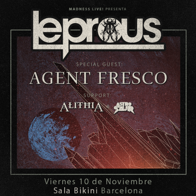 Leprous + Agent Fresco + Alithia + Astrosaur (Barcelona)