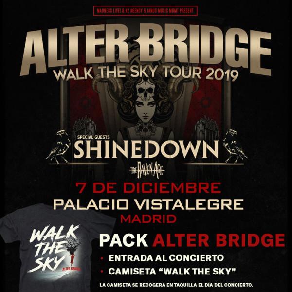Pack Alter Bridge + Camiseta (Madrid) PISTA