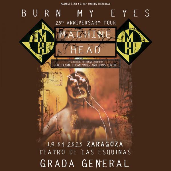 Machine Head (Zaragoza) Grada general