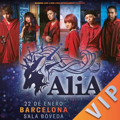 AliA Pack VIP (Barcelona)