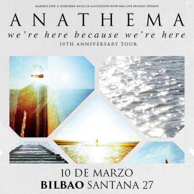 Anathema + Rendezvous Point + Masvidal (Bilbao)