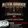 Pack Alter Bridge + CD (Madrid) PISTA