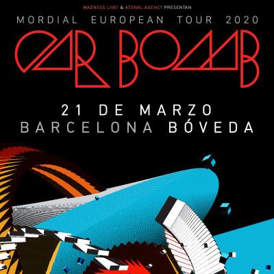 Car Bomb + Conjurer + Frostbitt (Barcelona)