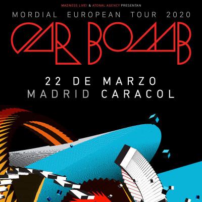 Car Bomb + Conjurer + Frostbitt (Madrid)
