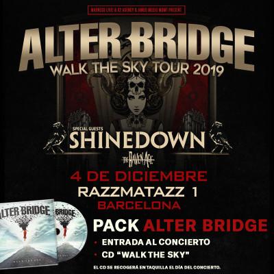 Pack Alter Bridge + CD (Barcelona) PISTA