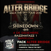 Pack Alter Bridge + Camiseta (Barcelona) PISTA
