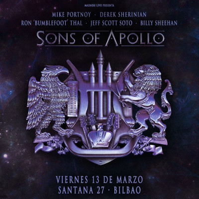 Sons of Apollo + Noturnall (Bilbao)