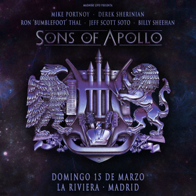 Sons of Apollo + Noturnall (Madrid)