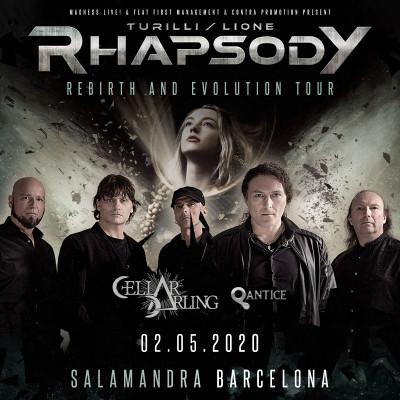 Turilli Lione Rhapsody + Cellar Darling + Qantice (Barcelona)