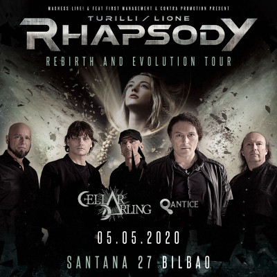 Turilly Lione Rhapsody + Cellar Darling + Qantice (Bilbao)