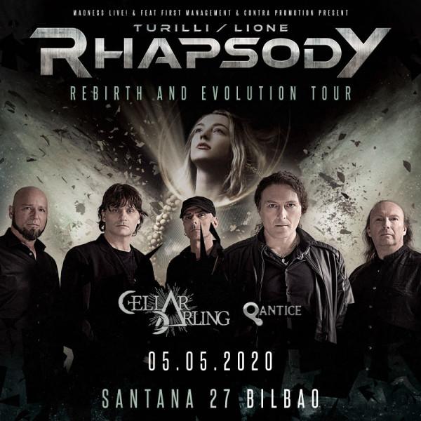 Turilli Lione Rhapsody + Cellar Darling + Qantice(Bilbao)