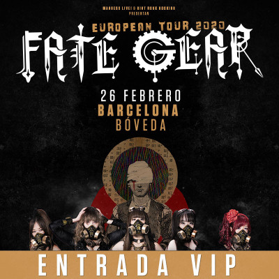 Fate Gear PACK VIP (Barcelona)