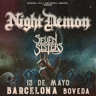 Night Demon + Seven Sister (Barcelona)