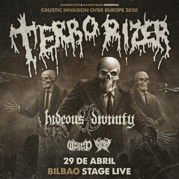 Terrorizer + Hideous Divinity + Wayward Dawn + Mass Worship (Bilbao)