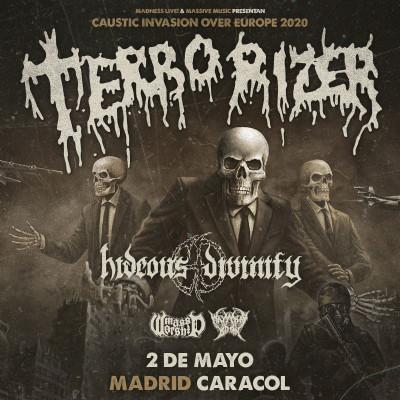Entradas Terrorizer + Hideous Divinity (Madrid)