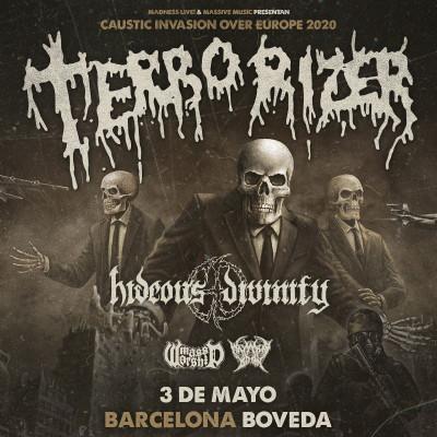 Entradas Terrorizer + Hideous Divinity (Barcelona)