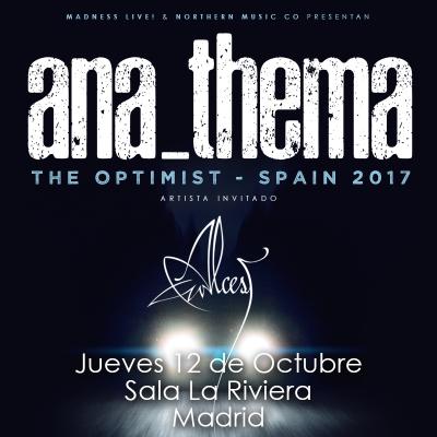 Anathema + Alcest (Madrid)