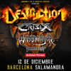 Destruction + Crisix + Suicidal Angels (Barcelona)