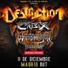 Destruction + Crisix + Suicidal Angels (Madrid)