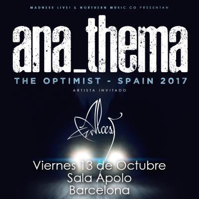 Anathema + Alcest (Barcelona)
