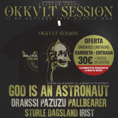 Okkult Session III: God Is an Astronaut + Oranssi Pazuzu