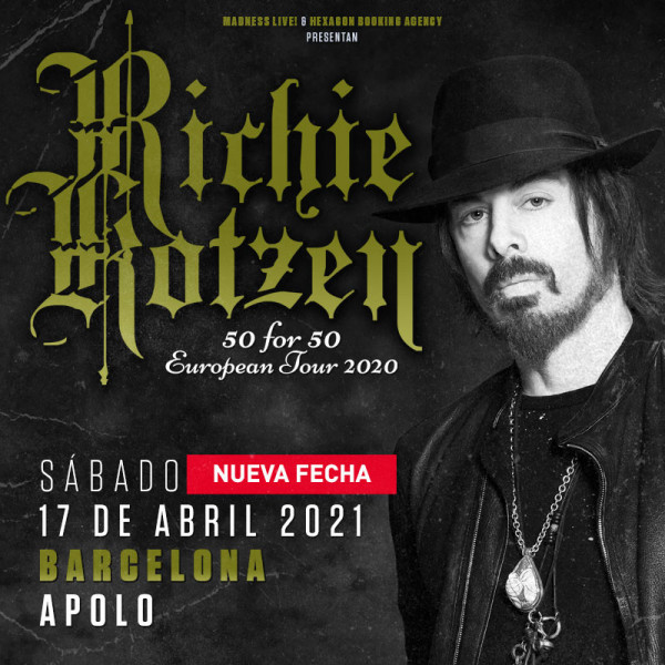 "Richie Kotzen ""50 for 50"" (Barcelona)"