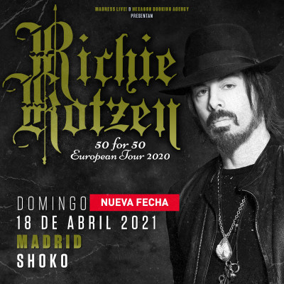 "Richie Kotzen ""50 for 50"" (Madrid)"
