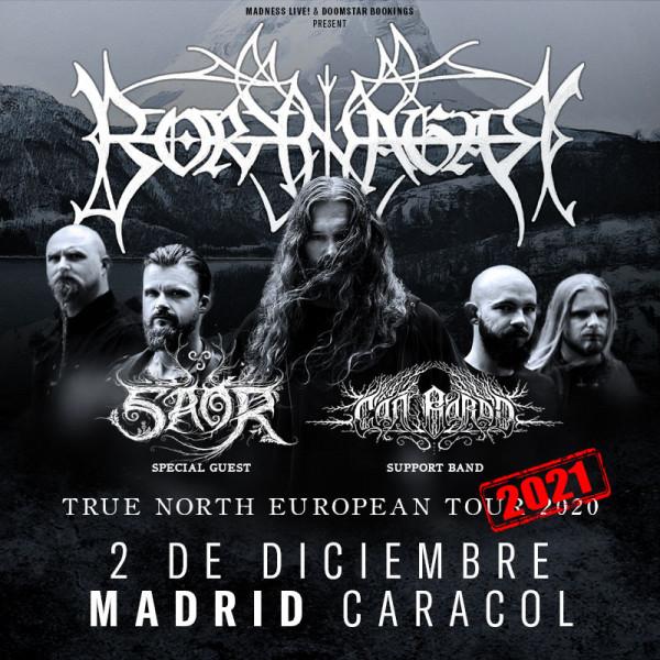 Borknagar + Saor + Cân Bardd (Madrid)