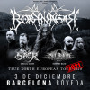 Borknagar + Saor + Cân Bardd (Barcelona)
