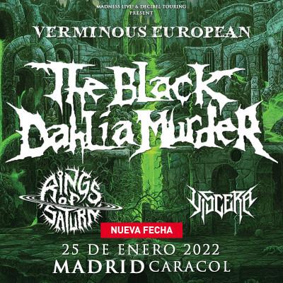 The Black Dahlia Murder + Rings of Saturn + Viscera (Madrid)