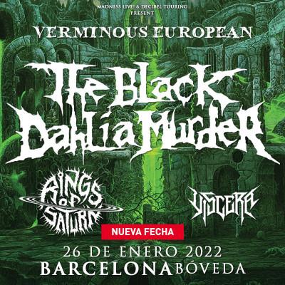 The Black Dahlia Murder + Rings of Saturn + Viscera (Barcelona)