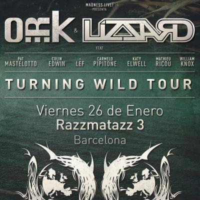 O_R_k + Lizzard (Barcelona)