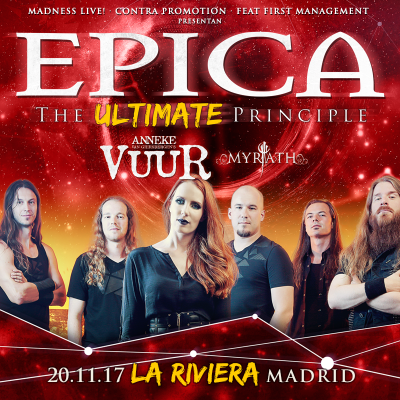 Epica + Vuur + Myrath (Madrid)