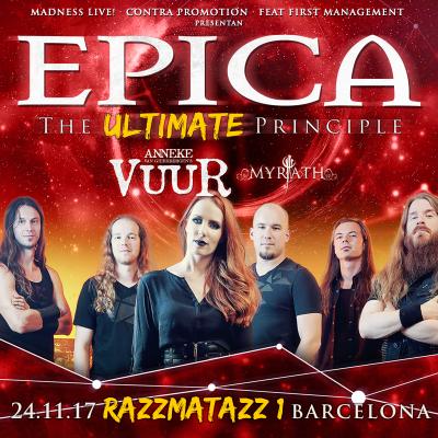 Epica + Vuur + Myrath (Barcelona)