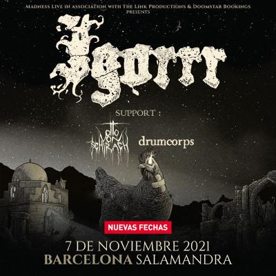 Igorrr + Otto Von Schirach + Drumcorps (Barcelona)