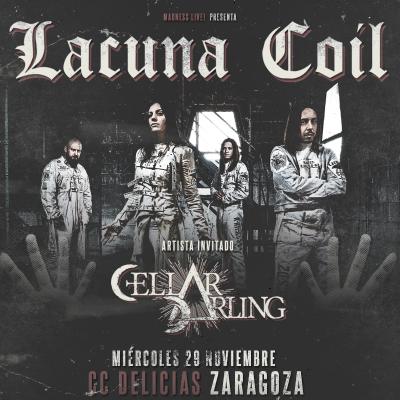 Lacuna Coil + Cellar Darling (Zaragoza)