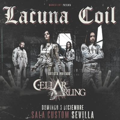 Lacuna Coil + Cellar Darling (Sevilla)