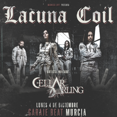 Lacuna Coil + Cellar Darling (Murcia)