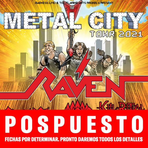 Raven + Wolf + Crystal Viper + Kill Ritual (Madrid)