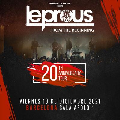 Leprous 20 aniversario (Barcelona)