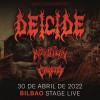 Entradas Deicide + Krisiun + Crypta (Bilbao)