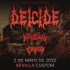 Entradas Deicide + Krisiun + Crypta (Sevilla)